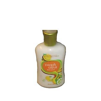 Bath & Body Works Peach Citrus Body Lotion 8 oz / 236 ml (2 Pack)