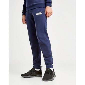 Nye Puma Junior Core logo spor kjører trening bukser blå