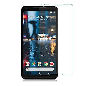 Google Pixel 2 XL Härdat Glas Skärmskydd Retail Förpackning