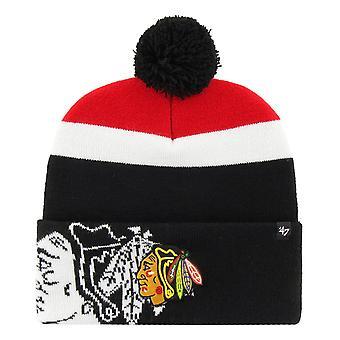 47 Brand Beanie Wintermütze - MOKEMA Chicago Blackhawks