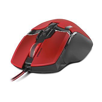 SPEEDLINK Kudos Z-9 8200 dpi Laser Gaming Mouse USB-rot/schwarz (SL-6391-RD-01)
