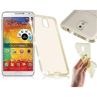 Case para Samsung Galaxy NOTE 3 Flexnão Ultra Fino TPU Capa traseira Tampa traseira