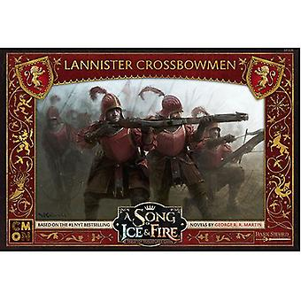 Lannister crossbowmen Song av Ice og fire Expansion Pack
