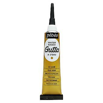 Pebeo Setasilk Gutta för Silk målning 20ml (guld)