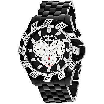 Roberto Bianci Men's Valentino Black Dial Uhr - RB70603