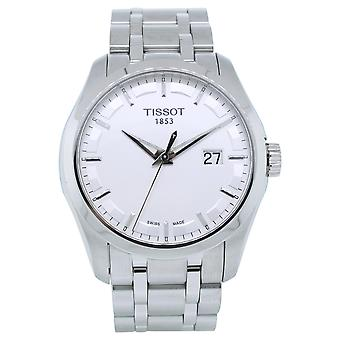 Tissot Men's Couturier Silver Dial Watch - T0354101103100