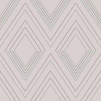 Alea Geometric Wallpaper Blush / Silver Muriva 703041