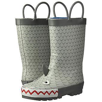 Carter ' s jongens ' Marco rubber regen boot Rain boot, grijs, 4 M ons peuter