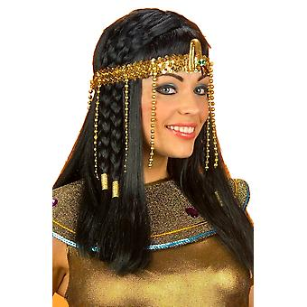 Egyptian Cleopatra Queen of Nile Beaded Snake Headpiece Costume Headband