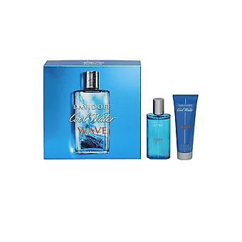 Davidoff Cool Water Wave Man Eau de Toilette Spray 75ml Duschgel 75ml