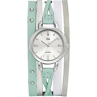 Watch Go Girl Only 698546 - round leather woman