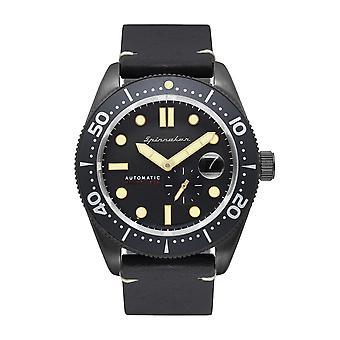 Spinnaker SP-5058-07 Gent's Croft Gunmetal Grey Case Wristwatch