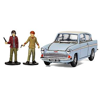 Ford Anglia Mr Weasley's Car Diecast Model Car from Harry Potter