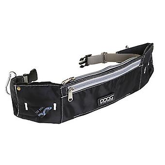 Doog Walkie Belt Mains Free Running With Dogs (Noir)