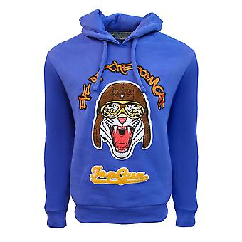 Top Gun Eye Of The Tomcat Pullover Hoodie Royal Blue