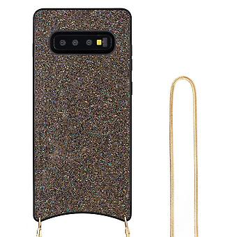 CaseGate phone chain for Samsung Galaxy S10 phone chain necklace case cover
