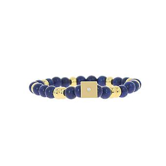 Les austauschbare Armband A58783 - Perle Form Carr e Marine Frauen