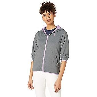 U.S. Polo Assn. Women's Reversible Hooded, Flowering Lilac, Size Small