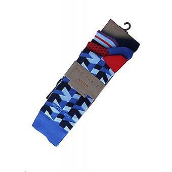 Ted Baker sokken 3-Pack poneren Mens