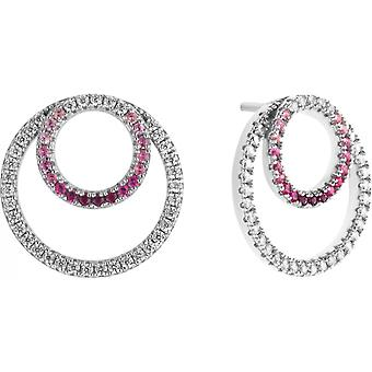 Earrings Zeades Ser03011 - Woman ruby crystals earrings