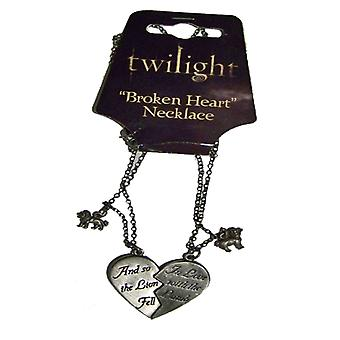 Twilight Jewellery Broken Heart Necklace