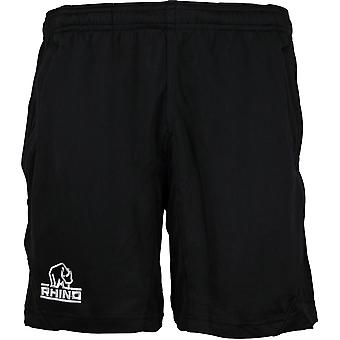 Rhino Mens Challenger Avslappet Passform Wicking Rugby Shorts