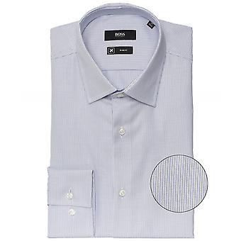 BOSS سليم صالح مخطط قميص جانغو
