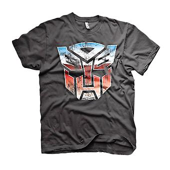 Men's Transformers Distressed Autobot Shield T-Shirt