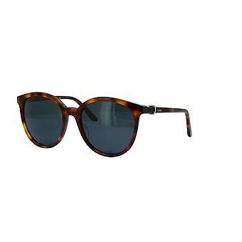 Cartier Décor CT0003S 003 Havana/Green Sunglasses