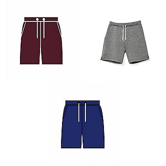 American Apparel Unisex Salt & Pepper Gym Shorts