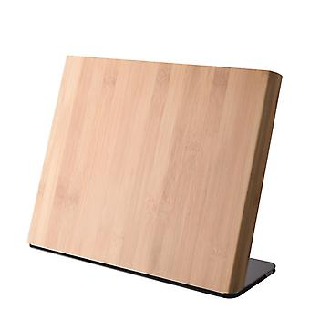 Dorre Knivblock Bambuträ Magnet 20*22,5 cm