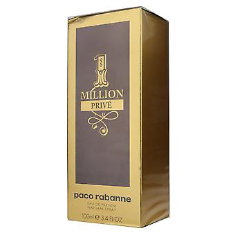 Paco Rabanne 1 Million Prive Eau De Parfum 3.4oz/100ml New In Box
