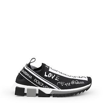 Dolce och Gabbana Original Kvinnor Året Sneakers - Svart Färg 34892