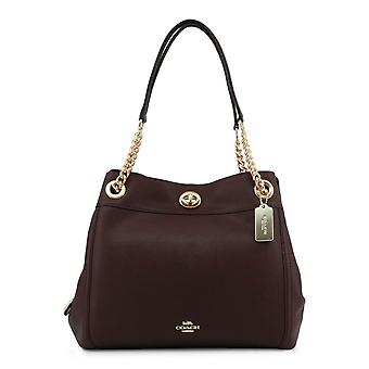 Coach Original Women All Year Torba na ramię - Czerwony Kolor 57343