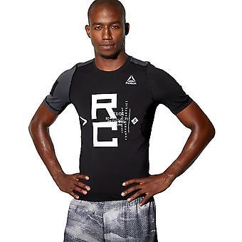 Reebok Kampf SS Rash Guard BP8867 universal das ganze Jahr Männer T-shirt