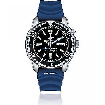 CHRIS BENZ - Diver Watch - DEEP 1000M SHARKPROJECT EDITION - CB-1000-SP-KBB