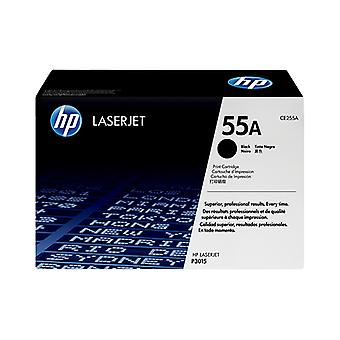 Hp 55A Black Toner 6000 Page Yield For Lj P3015