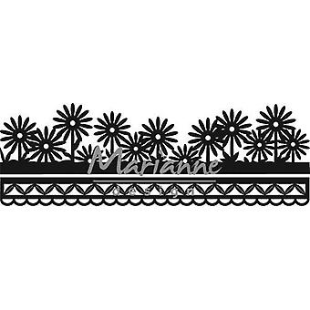 Marianne Design Craftables Cutting Dies - Anja-apos;s Flower Border CR1330