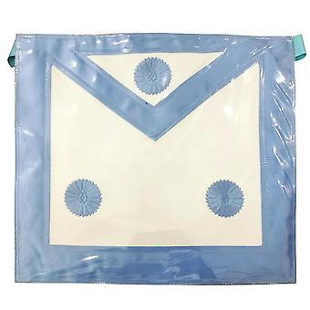 Master mason plastic cover apron - sky blue