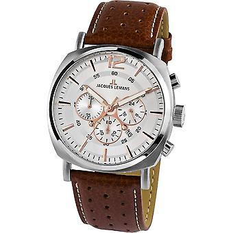 Jacques Lemans - Wristwatch - Uomini - Lugano - Sport - 1-1645.1D