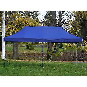 Tente Pliante FleXtents PRO 3x6m Bleu foncé