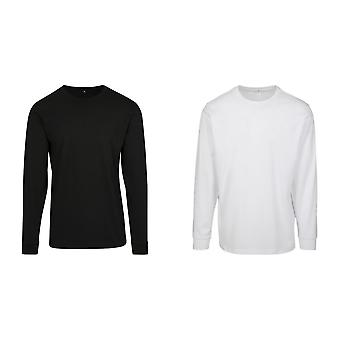 Build Your Brand Mens Long Sleeve Jumper