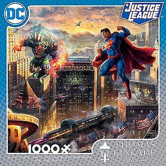 Superman Man of Steel 1000 Piece Puzzle