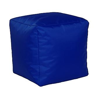 Seat cube nylon cobalt size 40 x 40 x 40 with filling