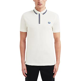 Fred Perry Men's Tipped Placket Polo Shirt Regular Fit