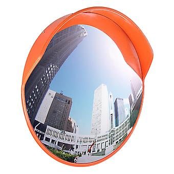 "Yescom 24"" Wide Angle Security Convex PC Mirror Outdoor Road Traffic Driveway Safety"