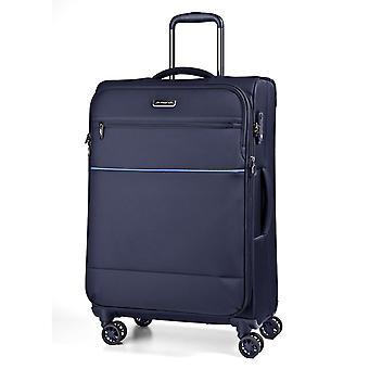 March15 Easy Trolley M, 4 wielen, 68 cm, 70,5 L, blauw