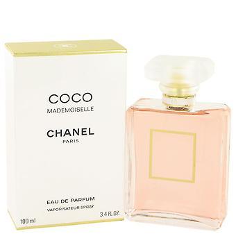 Coco Mademoiselle Eau De Parfum Spray By Chanel 3.4 oz Eau De Parfum Spray