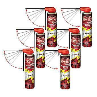 Sparset: 6 x NEXA LOTTE® Ultra Vermin Spray, 400 ml