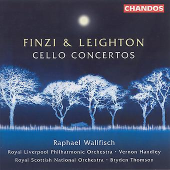 Finzi/Leighton - Finzi & Leighton: Cello Concerto's [CD] USA import